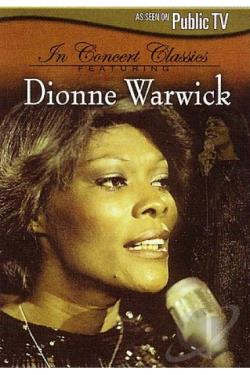 In Concert Classics Featuring Dionne Warwick DVD Cover Art