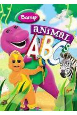 Barney - Animal ABCs DVD Cover Art