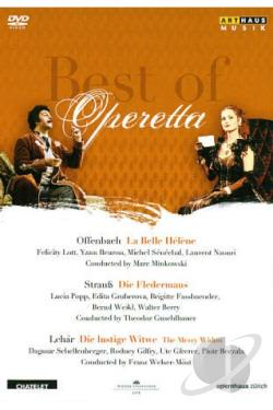 Best of Operetta: Le Belle Helene/Die Fledermaus/Die Lustige Witwe DVD Cover Art