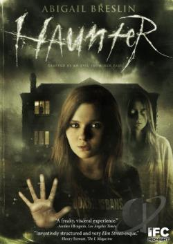Haunter DVD Cover Art
