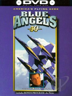 America's Flying Aces - The Blue Angels 50th Anniversary DVD Cover Art