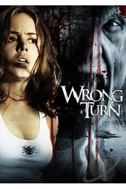 Wrong Turn DVD Cover Art