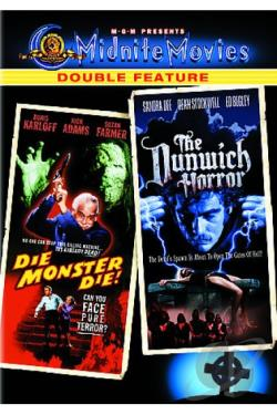 Die Monster Die/The Dunwich Horror DVD Cover Art