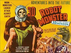 Robot Monster DVD Cover Art