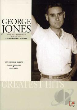 George Jones - Live in Concert DVD Cover Art