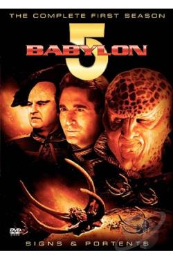 Babylon 5 - The Complete First Season DVD Cover Art