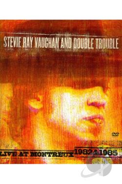 Stevie Ray Vaughan and Double Trouble - Live At Montreux 1982 & 1985 DVD Cover Art