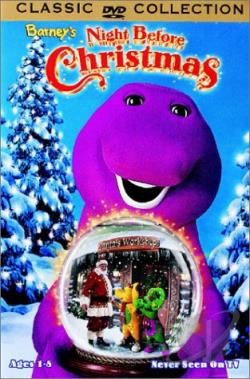 Barney's Night Before Christmas DVD Cover Art