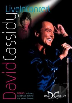 David Cassidy - Live In Concert DVD Cover Art