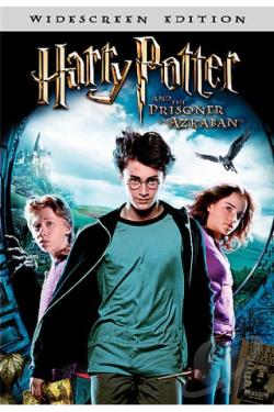 Harry Potter And The Prisoner Of Azkaban DVD Cover Art