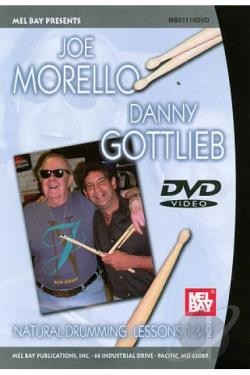 Joe Morello/Danny Gottlieb: Natural Drumming, Lessons 1 & 2 DVD Cover Art