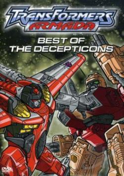 Transformers: Armada - Best of the Decepticons DVD Cover Art