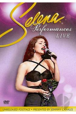 Selena: Live Performances DVD Cover Art