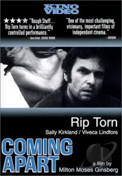 Coming Apart DVD Cover Art