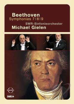 Beethoven - Symphonies 7, 8, 9 DVD Cover Art