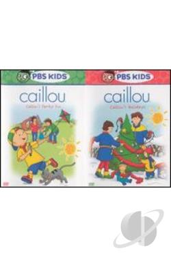 Caillou - 2-Pack: Caillou's Family Fun/Caillou's Holidays DVD Cover Art