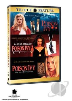 Poison Ivy/Poison Ivy 2/Poison Ivy 3: The New Seduction DVD Cover Art