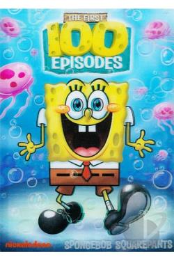 Spongebob Squarepants: The First 100 Episodes DVD Cover Art