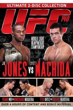 UFC 140: Jones vs. Machida DVD Cover Art