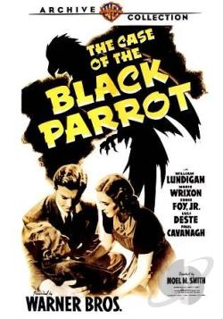 Case of the Black Parrot DVD Cover Art