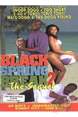 Black Spring Break 2: The Sequel DVD Cover Art