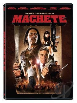 Machete DVD Cover Art