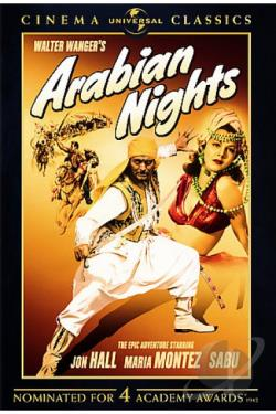 Arabian Nights DVD Cover Art
