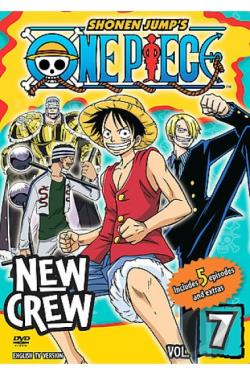 One Piece - Vol. 7: New Crew DVD Cover Art