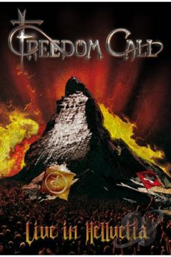 Freedom Call: Live in Hellvetia DVD Cover Art