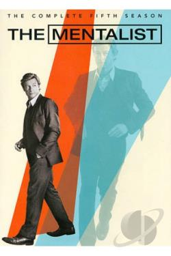 Mentalist - The Complete Fifth Season DVD Cover Art
