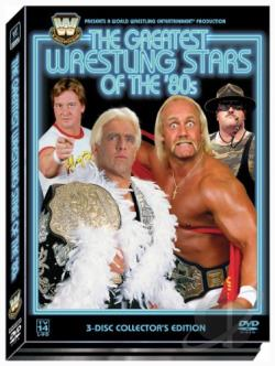 WWF - The Greatest Wrestling Stars of the '80's DVD Cover Art