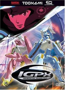 Igpx - Vol. 4 DVD Cover Art