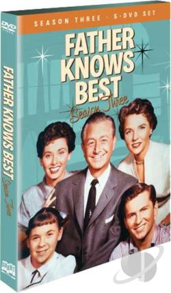 Father Knows Best - The Complete Third Season DVD Cover Art