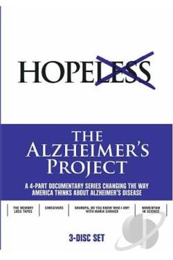 Alzheimer's Project DVD Cover Art