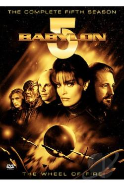 Babylon 5 - The Complete Fifth Season DVD Cover Art