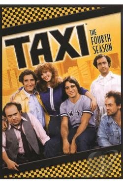 Taxi - The Complete Fourth Season DVD Cover Art