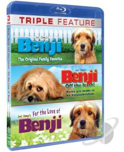 Ultimate Benji Collection - 3 Pack BRAY Cover Art