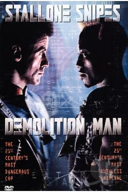 Demolition Man DVD Cover Art