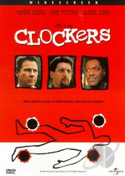 Clockers DVD Cover Art