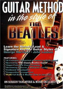 Guitar Method in the Style of the Beatles DVD Cover Art