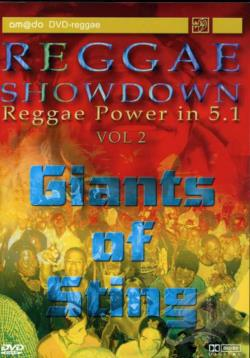 Reggae Showdown - Giants of Sting DVD Cover Art