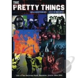 Pretty Things - 40th Anniversary: Live in Brighton DVD Cover Art