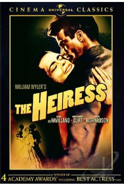 Heiress DVD Cover Art