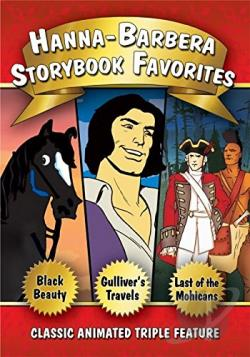 Hanna-Barbera Storybook Favorites Collection DVD Cover Art
