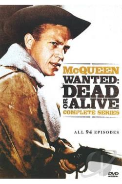 Wanted - Dead or Alive - Complete Series DVD Cover Art