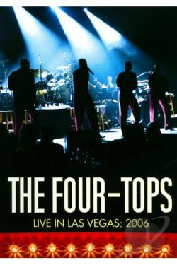 Four Tops: Live at Stardust 2006 DVD Cover Art