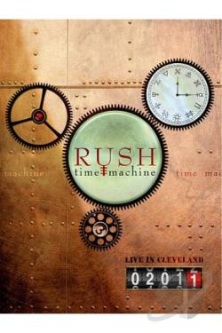 Rush: Time Machine - Live in Cleveland BRAY Cover Art