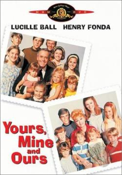 Yours, Mine and Ours DVD Cover Art