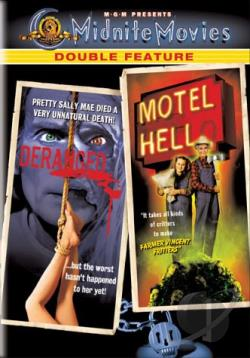 Deranged/Motel Hell - Midnite Movies Double Feature DVD Cover Art