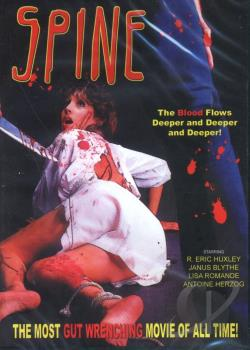Spine DVD Cover Art